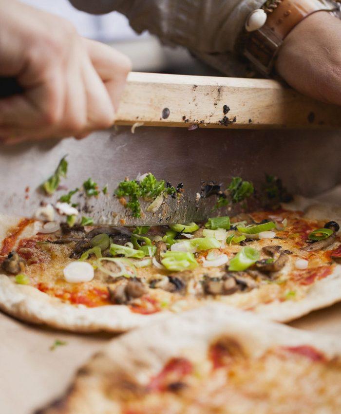 verktøy for å dele pizza