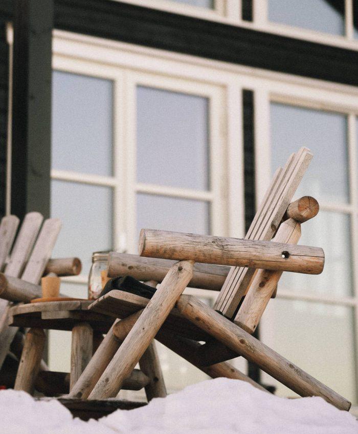 log stol i sedertre