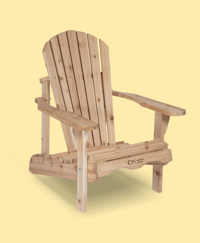 Adirondack stol i sedertre fra canadian outdoor