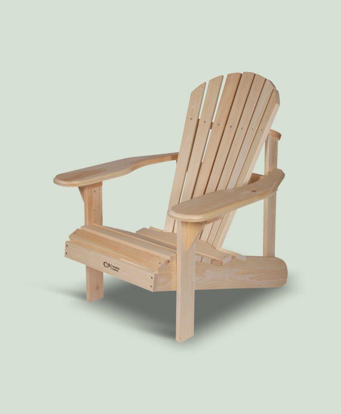 Furu stol fra canadian outdoor