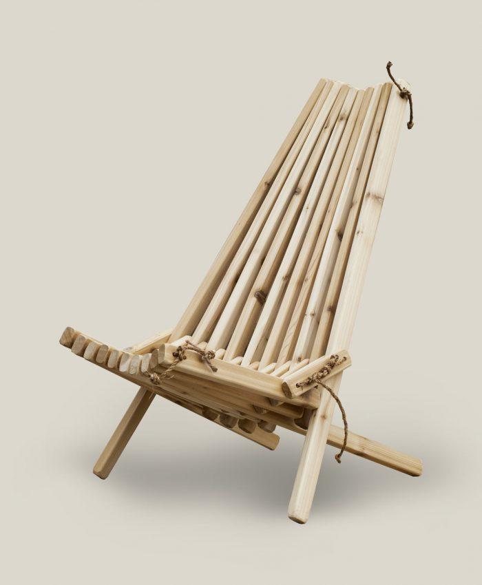 Stick stol eco chair i sedertre