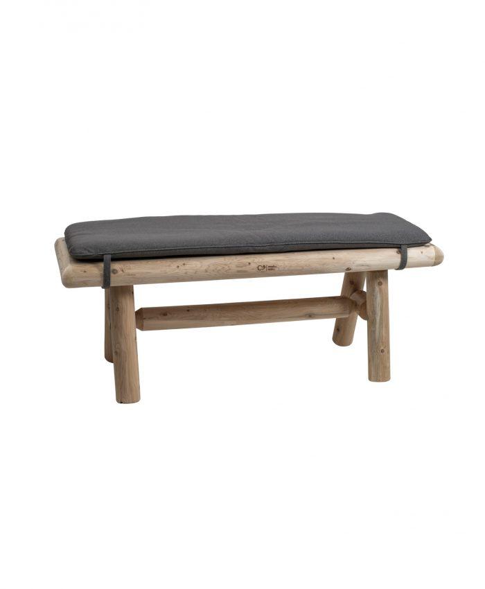 Sittepute for hagebenk på 120cm. Passer spesielt bra til log hagebenk 120 cm. Puten er av beste kvalitet, med vannavvisende og vedlikeholdsvennlig stoff. <ul> <li>vannavvisende</li> <li>høy kvalitet på stoff</li> <li>vedlikeholdsvennlig</li> <li>gir ekstra komfort</li> <li>bånd med borrelås</li> <li>fra canadian outdoor</li> </ul>